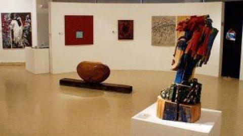 Inauguración exposición colectiva en Santander.