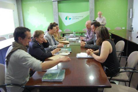 Visita de miembros de la Fryderyk Chopin University de Varsovia.