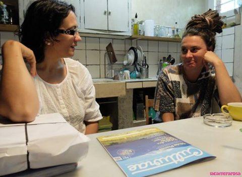 Visita de Ana Cabero a Can Clos.