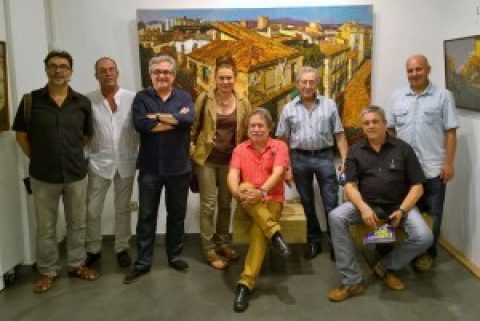 Inauguración 9Art en Lloret de Mar