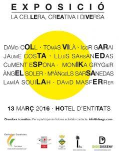 Exposición Colectiva Hotel Entitats, La Cellera de Ter.