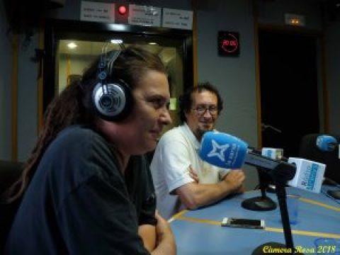 Entrevista en Radio Arenys